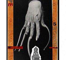 Dada Tarot- 5 of Swords by Peter Simpson
