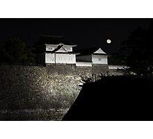 Castle in Osaka, Japan Photographic Print