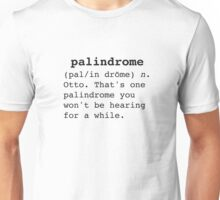 Palidrome Unisex T-Shirt