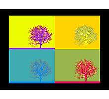 Pop Art Tree  Photographic Print