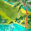Mountains of Kauai by Sally Griffin