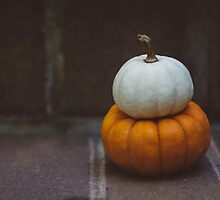 Two Pumpkins no. 1 by Bethany Helzer
