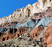 The Waterpocket Fold, Capitol Reef NP, Utah, USA by Kenneth Keifer