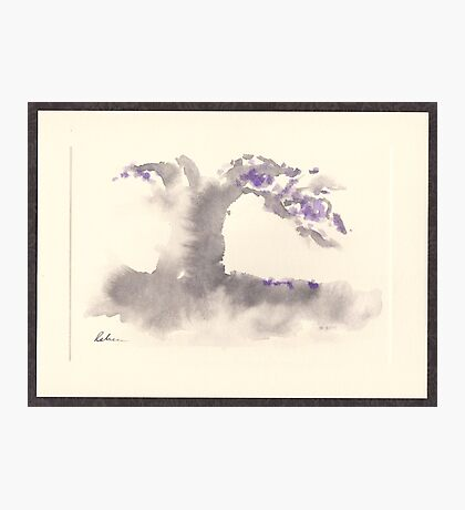 """Morning Mist""   Sumi e wash painting Photographic Print"