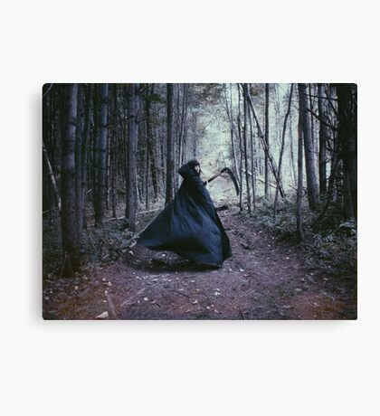 The Call of Autumn Canvas Print
