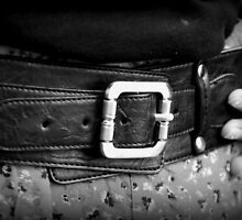 Leather belt by MellyClaire