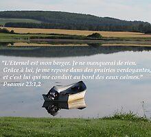 Ps. 23:1,2 fr by hummingbirds