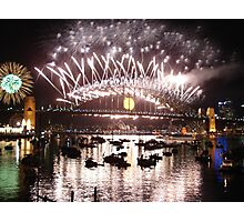 Happy New Year Aussie Style! Photographic Print