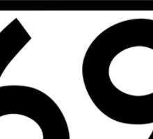 Aussies Get Their Kicks From... Root 69! Sticker