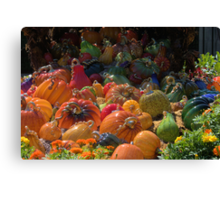 Plethera Of Pumpkins Canvas Print