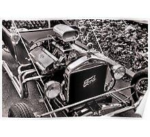 Big Motor, Little Rod Poster
