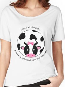 Spherical Cow Women's Relaxed Fit T-Shirt