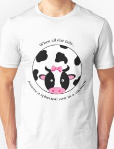 Spherical Cow Unisex T-Shirt