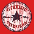 Cthulhu Star Spawn (distressed) by Anthony Pipitone