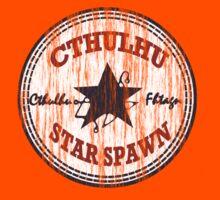 Cthulhu Star Spawn (distressed) Kids Tee