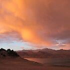 Stormy and Cloudy Sunset View by Corri Gryting Gutzman