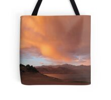 Stormy and Cloudy Sunset View Tote Bag