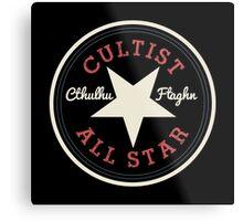 Cthulhu Cultist All Star Metal Print