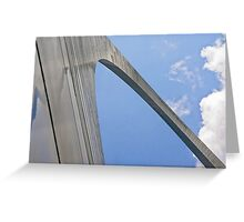 Up the Gateway Arch Greeting Card