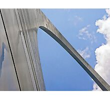 Up the Gateway Arch Photographic Print