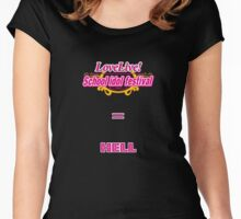 SIF = HELL Women's Fitted Scoop T-Shirt