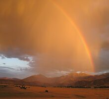 Rainbow Over Lake Isabella by Corri Gryting Gutzman