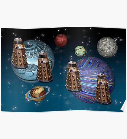 March Of The Daleks Poster