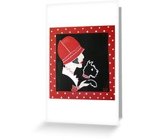 Dottie the Scottie Greeting Card