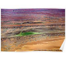 Rainbow Desert, Outback South Australia 556 Poster