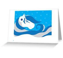 Horse Bride Greeting Card