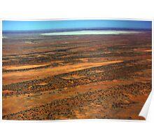 Lake Eyre, Outback South Australia 558 Poster