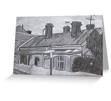 Terrace Houses Greeting Card