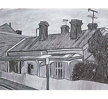 Terrace Houses Photographic Print