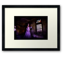 Alone and Abandoned Framed Print