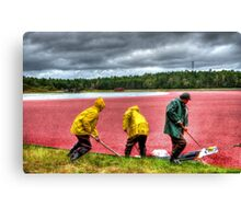 HDR Workers Canvas Print