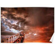 Sunset Slide Poster