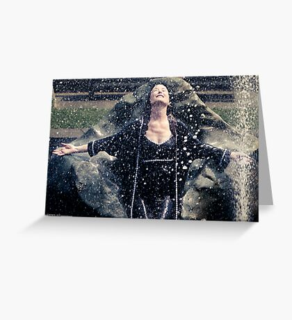 Dreams of Life [Mary McDonnell] Greeting Card