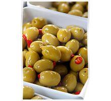 Thai Chilli Olives Poster