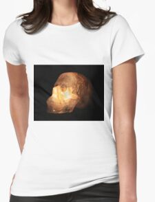 The Crystal Skull Womens Fitted T-Shirt