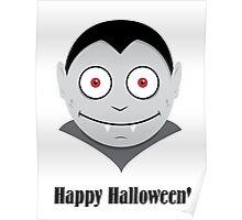 Halloween Vampire Kids Shirt Poster