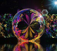 Bipolar Shapes Crystal Ball (UF0446) by barrowda