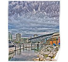 Rock, Dock, and What the Flock (HDR vert pano) Poster