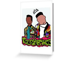 Fresh Prince Reloaded Greeting Card