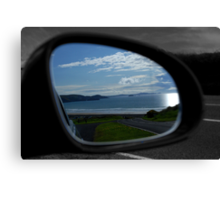 Rear view reflections Canvas Print