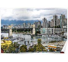 Granville Island, Vancouver, Canada Poster