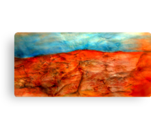 Mountains in the High Desert # 3 Canvas Print