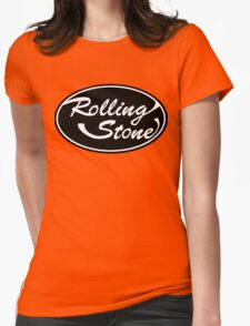Rolling Stone Logo Womens Fitted T-Shirt