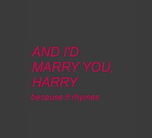 and i'd marry you harry one direction phone case by jessiicaas