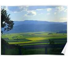 Across the Cane Fields from the Ridge Poster