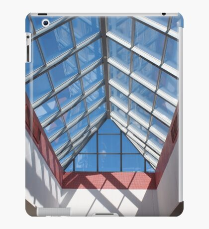 View from below the transparent roof of the glass iPad Case/Skin
